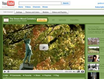 The Green-Wood Cemetery playlist on YouTube | Green-Wood