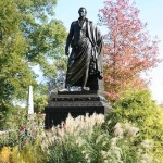 De Witt Clinton in Fall, by Jeff Richman