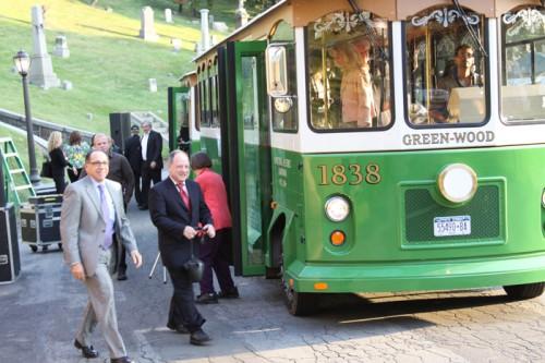 Jeff Richman at Green-Wood Trolley
