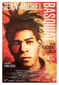 Poster for Jean Michel-Basquiat: The Radiant Child