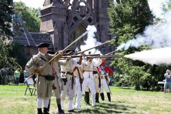 Battle of Brooklyn Reenactors