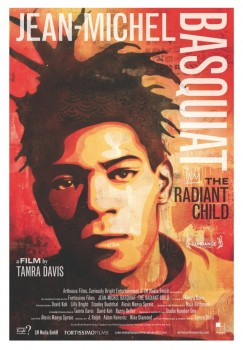 Basquiat Radiant Child movie poster