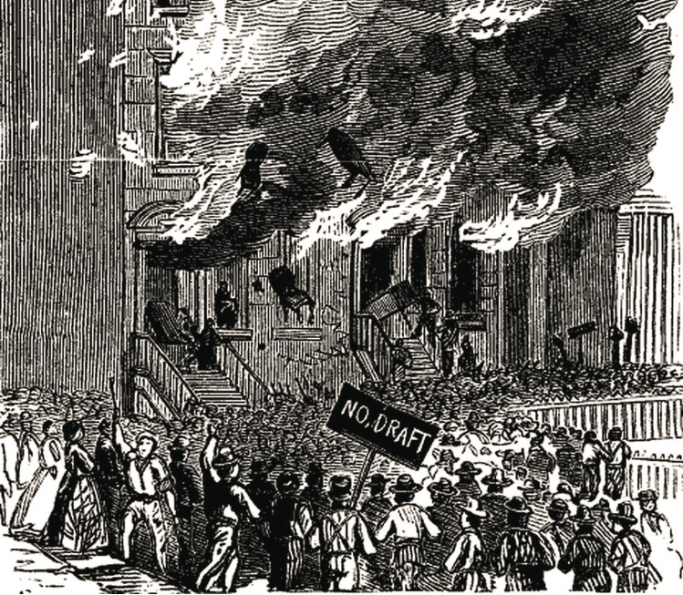 Conscription Riot New York City Draft Riot Of