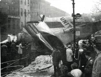 Park Slope plane crash photo