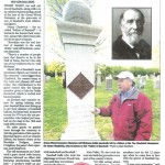 The recent Daily News article on Green-Wood and baseball.