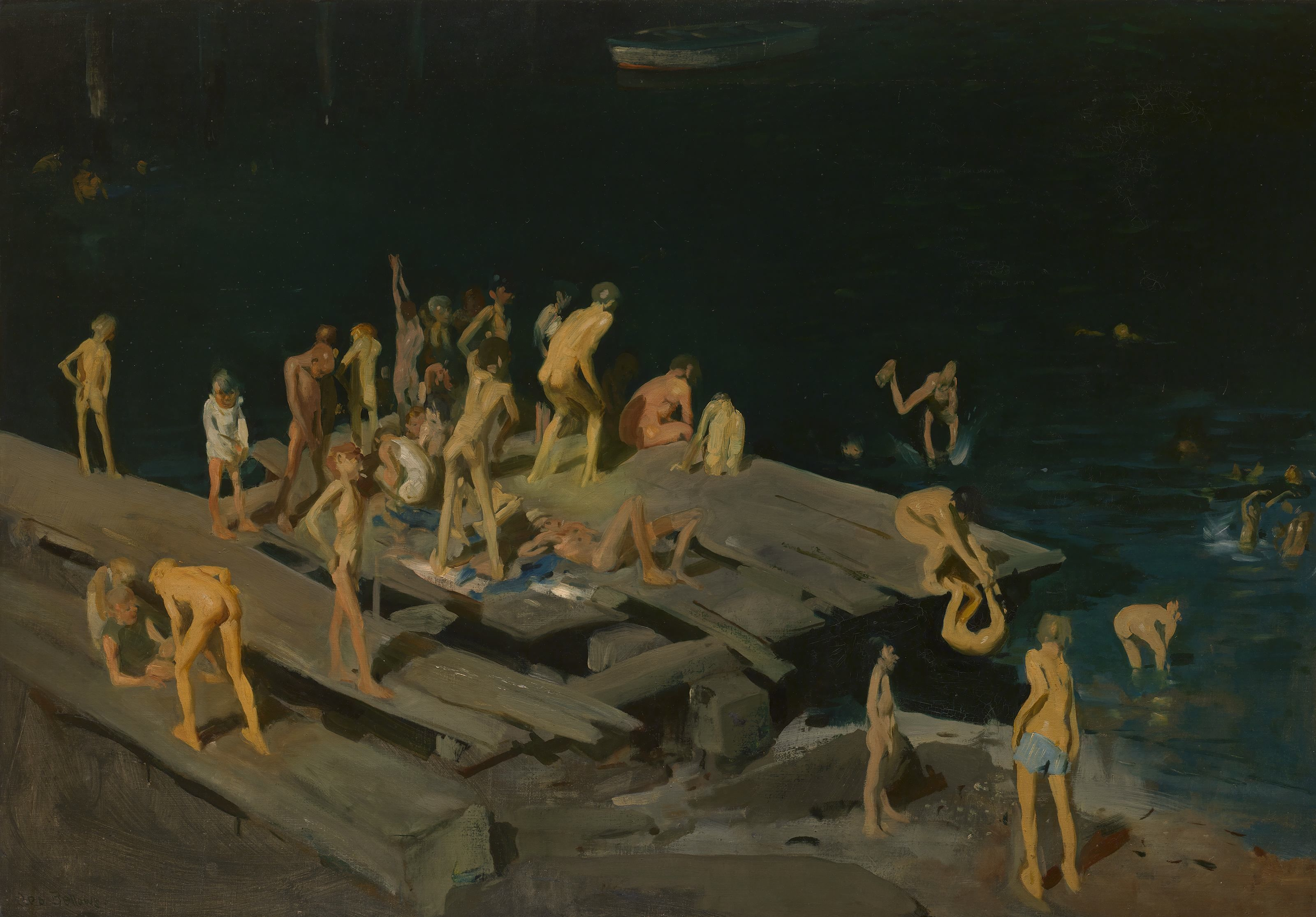 Hell in a kiss: The Boxers of George Bellows