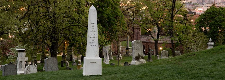 Green wood cemetery events