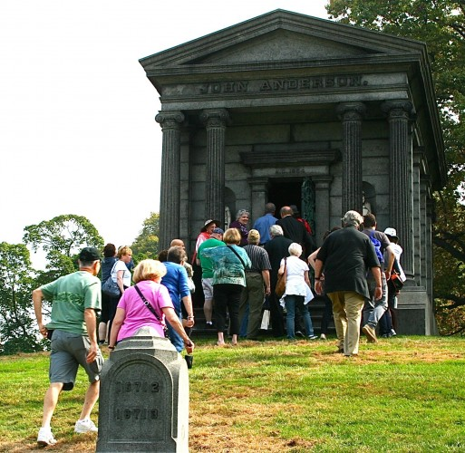 There were big crowds on Saturday and Sunday--all for a good cause--supporting The Green-Wood Historic Fund.