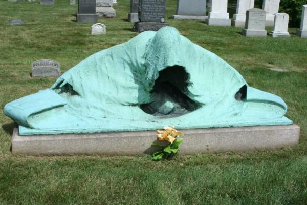 """The Angel of Death,"" by Solon Borglum."