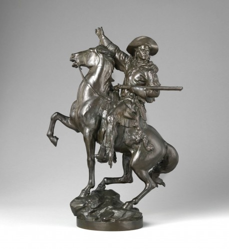 """""""Kit Carson,"""" by Frederick William MacMonnies. Sagamore Hill National Historic Site, Oyster Bay, New York."""