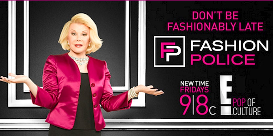 Joan Rivers Who Has Been In Show Biz Forever Hosts A Weekly