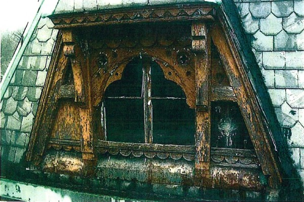 Here's one of the windows, before restoration.