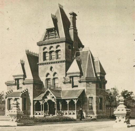The gatekeeper's residence, crica 1890.