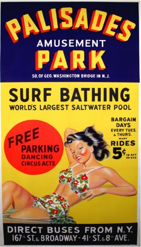 Mangels invented the Wave Pool at Palisades Park in New Jersey.