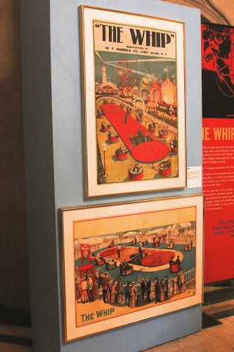 Two great Whip posters from about a century ago. Courtesy of Ken Rubin.
