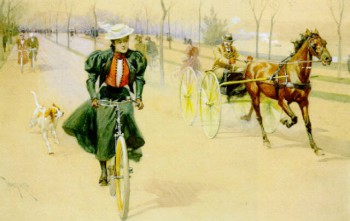 Bike and Carriage by De Thulstrop