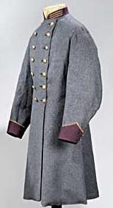 Confederate surgeon's coat