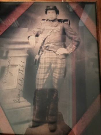 Jeremiah Haley during Civil War.
