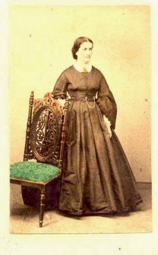 Catherine Jardine, General Jardine's wife. From the Dennis C. Schurr Collection.