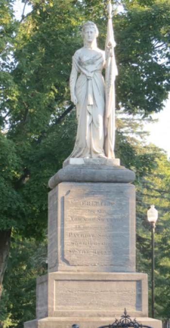 Monument to Fallen Soldiers in Swanton, Vermont
