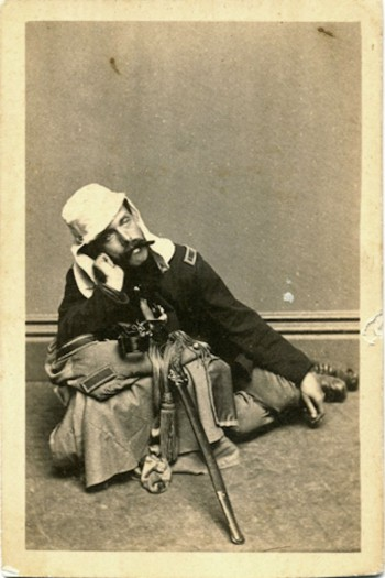 William McGrath at Bolivar Heights, Harpers Ferry, mid 1862