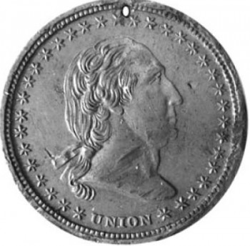 John G. Mitchill's identification disc, front and back
