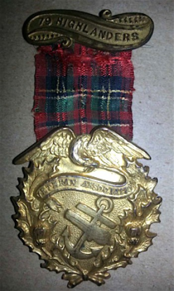 Medal given to More's daughter
