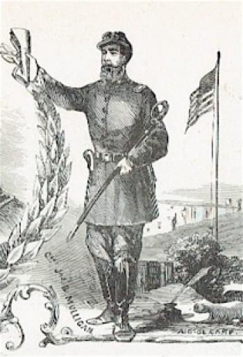 Image of James Mulligan by Frank Leslie, publisher and illustrator