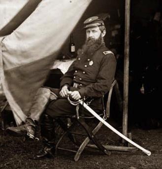 Colonel William Brewster, camped at Culpepper, Virginia