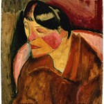 """Head of a Woman."" C. 1908. Myron Kunin Collection of American Art."