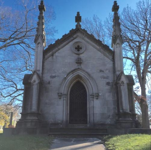 Isaac N. Phelp's tomb.