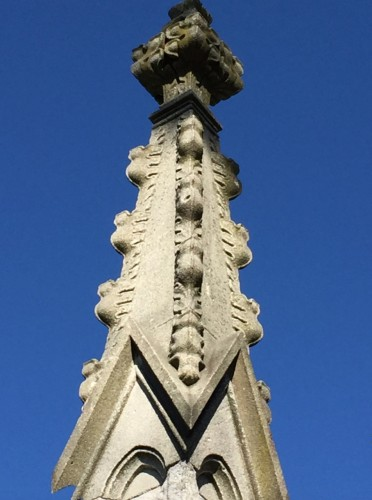 Crockets on the Phelps Tomb.