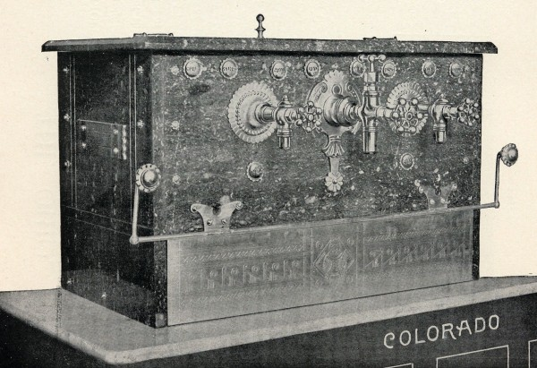"The ""Colorado"" model, as it appeared in a 19th century Matthews catalogue."