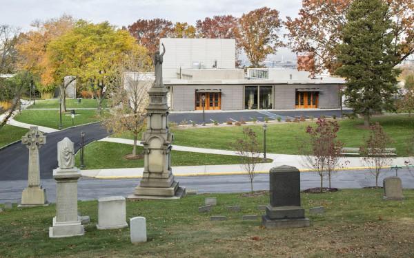 Green-Wood's grand Gothic archesCredit: Art Presson