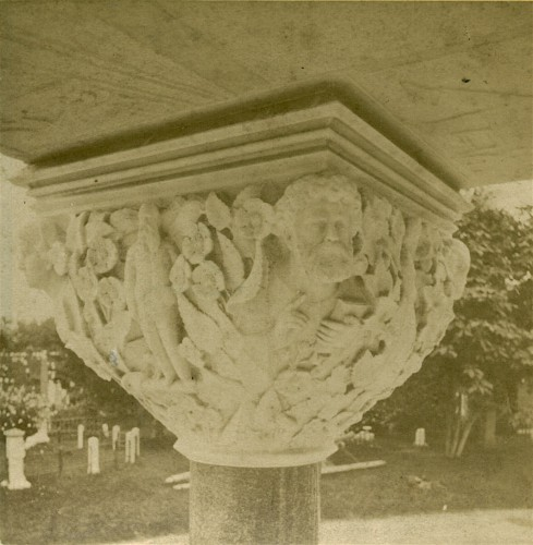 Detail from half stereoscopic view, circa 1875.