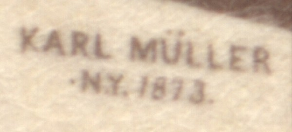 Zooming in on the signature and date.