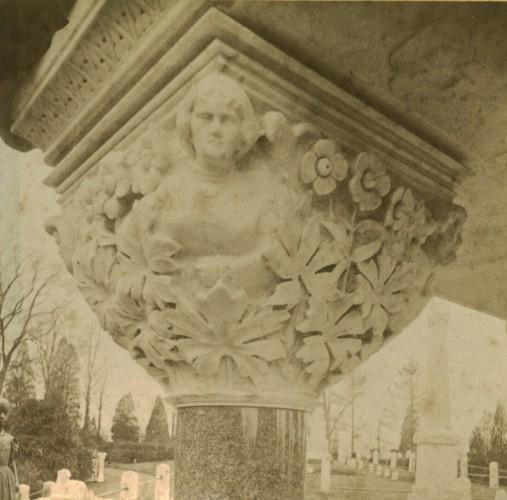 Half stereoview, circa 1875.