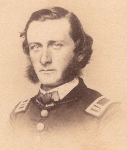 Captain Samuel Sims, about 1863.