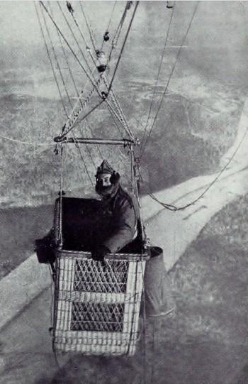 Balloon, France 1918