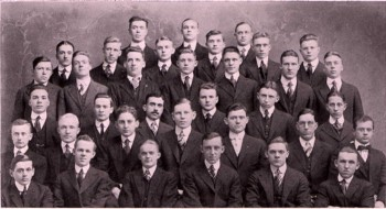 Photo from Ludwig's Colgate University Yearbook
