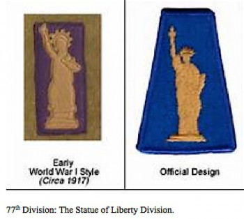 Badges of the 77th Division