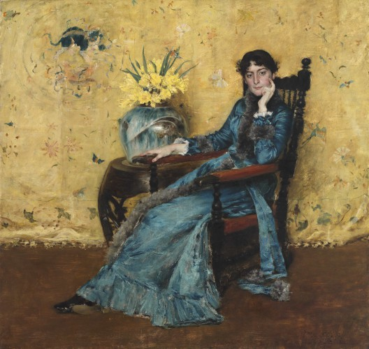 Portrait of Dora Wheeler William Merritt Chase (American, 1849–1916) 1882‑1883 Oil on canvas *The Cleveland Museum of Art, Gift of Mrs. Boudinot Keith in memory of Mr. and Mrs. J.H. Wade *Courtesy, Museum of Fine Arts, Boston