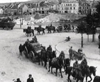 U.S. Field Artillery at Chateau-Thierry
