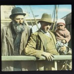 Jewish Immigrants at Ellis Island, circa 1905.
