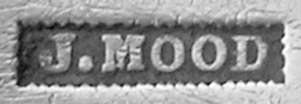 Silversmith John Mood's mark.