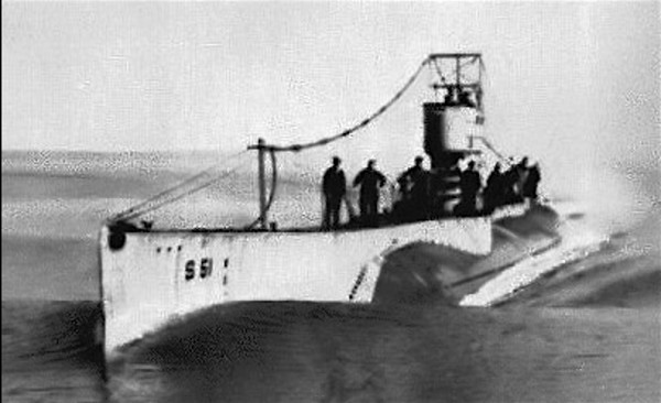 The submarine S-51. Its keel was laid down in late 1919; it was launched in 1921 and commissioned in 1922.