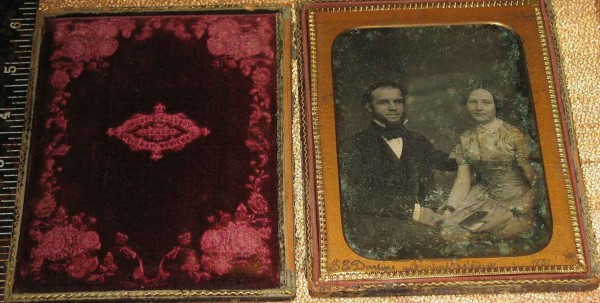 The daguerreotype, as offered for sale,