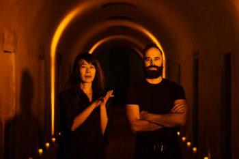 Adam Tendler & Jenny Lin catacombs image