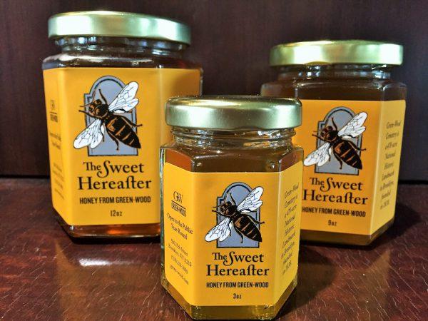 green-wood honey jars
