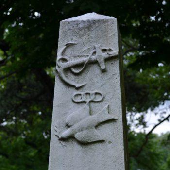 stone sailor monument